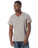 04532P1 Alternative Men's Organic Pima Cotton Perfect V-Neck T-Shirt