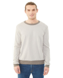 09898E Alternative Men's Champ Eco-Mock Twist Ringer Sweatshirt