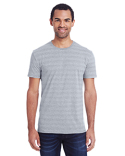 152A Threadfast Apparel Men's Invisible Stripe Short-Sleeve T-Shirt