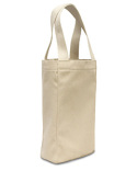 1726 Liberty Bags Double Bottle Wine Tote