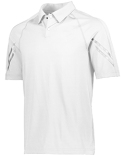 222513 Holloway Unisex Dry-Excel™ Spandex Knit Flux Polo T-Shirt