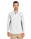 222532 Holloway Men's Avenger Long-Sleeve Polo