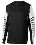 222541 Holloway Unisex Dry-Excel™ Arc Long-Sleeve Training T-Shirt