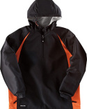 229064 Holloway Adult Polyester 1/4 Zip Hooded Hurricane Jacket