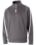 229192 Holloway Adult Polyester 1/4 Zip Determination Pullover