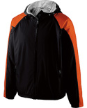 229211 Holloway Youth Polyester Full Zip Hooded Homefield Jacket