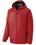 229217 Holloway Youth Polyester Full Zip Bionic Hooded Jacket