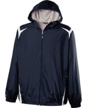 229276 Holloway Youth Polyester Full Zip Hooded Collision Jacket