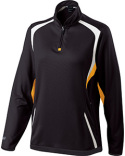 229337 Holloway Ladies' Polyester 1/4 Zip Transform Pullover