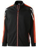 229668 Holloway Youth Temp-Sof Performance Fleece Flux Warm-Up Jacket