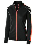 229768 Holloway Ladies' Temp-Sof Performance Fleece Flux Warm-Up Jacket