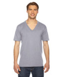 2456 American Apparel Unisex USA Made Fine Jersey Short-Sleeve V-Neck T-Shirt