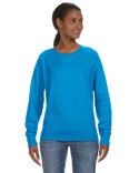 3762 LAT Ladies' French Terry Slouchy Pullover