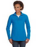 3764 LAT Ladies' French Terry 1/4-Zip Pullover
