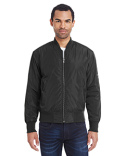 395J Threadfast Apparel Unisex Bomber Jacket