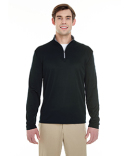 4102 Badger Men's Lightweight Long-Sleeve Quarter-Zip Performance Pullover