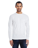 42L0 Hanes Men's 4.5 oz., 60/40 Ringspun Cotton/Polyester X-Temp® Long-Sleeve T-Shirt