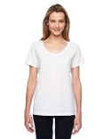 42V0 Hanes Ladies' 4.5 oz. X-Temp® Performance V-Neck
