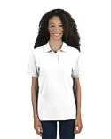 443WR Jerzees Ladies' 6.5 oz. Premium 100% Ringspun Cotton Piqué Polo