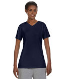 483V Hanes Ladies' Cool DRI® with FreshIQ V-Neck Performance T-Shirt