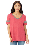 5058BP Alternative Ladies' Varisty T-Shirt