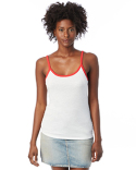 5094BP Alternative Ladies' Ringer Vintage Jersey Cami Tank Top