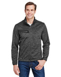 5316 Dri Duck Atlas Bonded Mélange Sweater Fleece Jacket