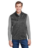 5317 Dri Duck Compass Bonded Mélange Sweater Fleece Vest