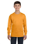 5546 Hanes Youth 6.1 oz. Tagless® Long-Sleeve T-Shirt