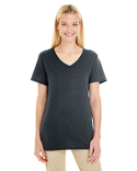601WVR Jerzees Ladies' 4.5 oz. TRI-BLEND V-Neck T-Shirt