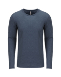 6071 Next Level Men's Triblend Long-Sleeve Crew