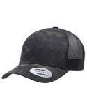 6606MC Yupoong Retro Trucker Multicam® Snapback