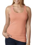 6633 Next Level Ladies' Spandex Jersey Racerback Tank
