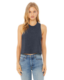 6682 Bella + Canvas Ladies' Racerback Cropped Tank