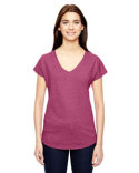 6750VL Anvil Ladies' Triblend V-Neck T-Shirt