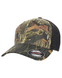 6911 Flexfit Adult Mossy Oak Stretch Mesh Cap