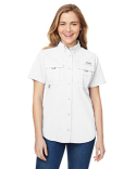 7313 Columbia Ladies' Bahama™ Short-Sleeve Shirt