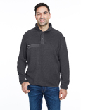 7355 Dri Duck Men's Brooks Sherpa Fleece Pullover