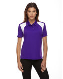 75066 Extreme Ladies' Eperformance™ Colorblock Textured Polo