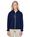 78166 Ash City - North End Ladies' Prospect Two-Layer Fleece Bonded Soft Shell Hooded Jacket