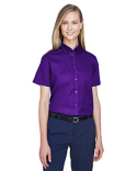 78194 Core 365 Ladies' Optimum Short-Sleeve Twill Shirt