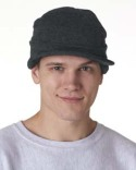 8133 UltraClub Adult Knit Beanie with Lid