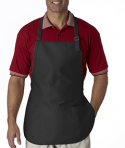 8205 Liberty Bags Three-Pocket Apron with Buckle