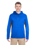8231 UltraClub Adult Cool & Dry Sport Hooded Pullover