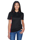 8406L UltraClub Ladies' Cool & Dry Sport Two-Tone Polo