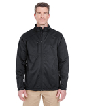 8477 UltraClub Men's Solid Soft Shell Jacket