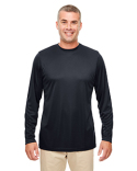 8622 UltraClub Men's Cool & Dry Performance Long-Sleeve Top
