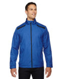 88188 North End Men's Tempo Lightweight Recycled Polyester Jacket with Embossed Print