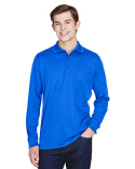 88192P Core 365 Adult Pinnacle Performance Long-Sleeve Piqué Polo with Pocket