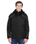 88196T North End Men's Tall Angle 3-in-1 Jacket with Bonded Fleece Liner